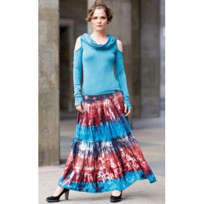 Långkjol - batik