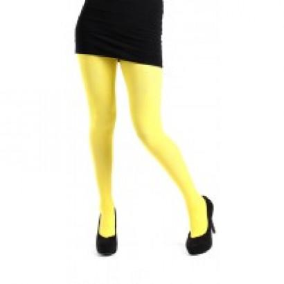 Enfärgade tights - 50 den - one size